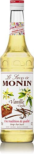 MONIN Vanilla Syrup, Versatile Flavour, Great for Coffee, Shakes and Cocktails, Gluten-Free, Vegan, Non-GMO, 7