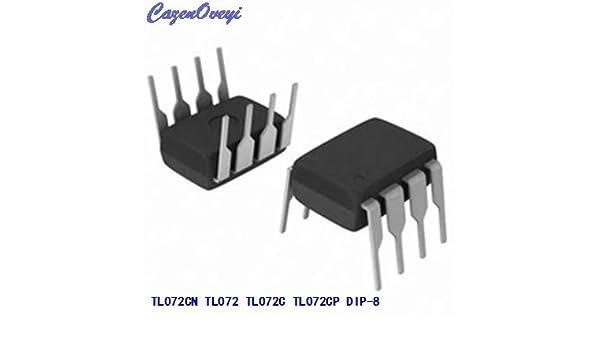 10pcs//lot TL072CP DIP8 TL072 DIP TL072CN DIP-8 New and Original IC in Stock