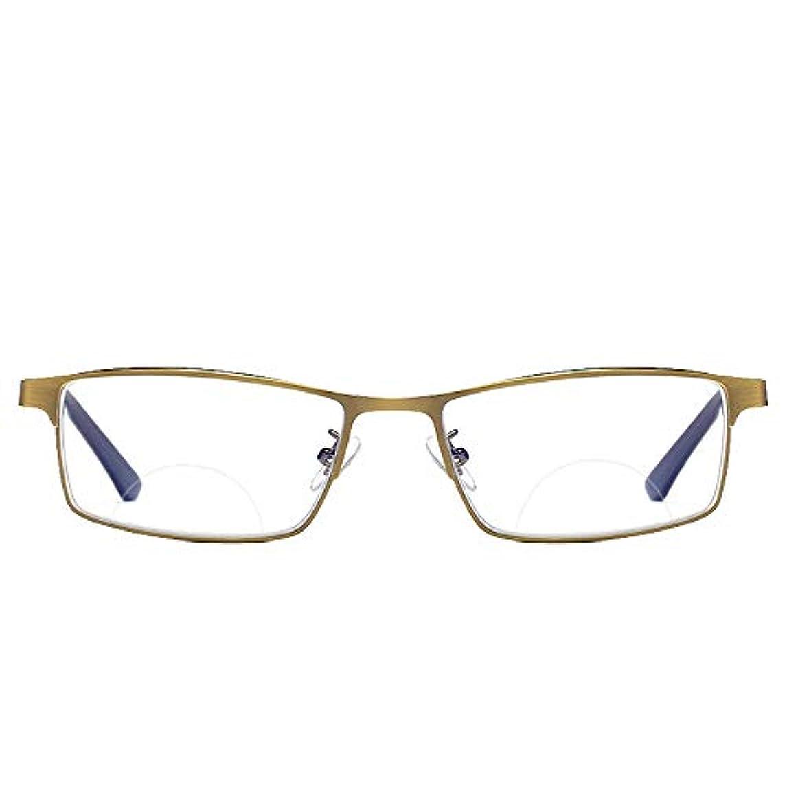 スマート老眼鏡、 変色多機能ポータブルユニセックス滑り止めコンピュータリーダーメガネ、 新聞を読むのに適しているハイキング
