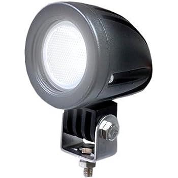 COM MI-SL10W-NR 狭角(10度) 10W スポットLED作業灯 農業機械 オフロード車両や公園 庭の照明など フォグランプ