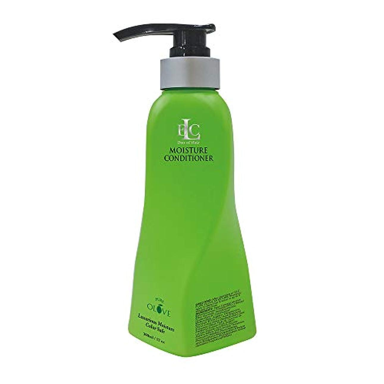 スケルトン解説風邪をひくELC Dao of Hair ELCピュアOloveモイスチャライジングコンディショナー - モイスチャーリッチナチュラルボタニカル&有機油は、栄養を与え、修理、強化、ドライ髪を再水和 12オンス