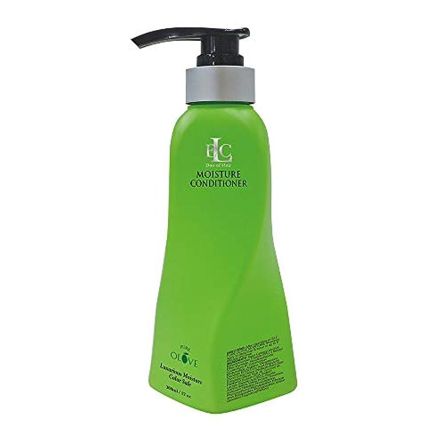 コック振動させる友情ELC Dao of Hair ELCピュアOloveモイスチャライジングコンディショナー - モイスチャーリッチナチュラルボタニカル&有機油は、栄養を与え、修理、強化、ドライ髪を再水和 12オンス