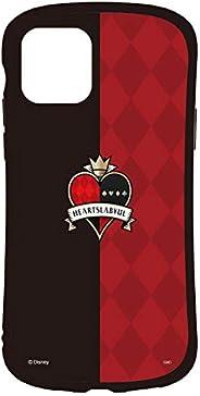 グルマンディーズ ディズニー ツイステッドワンダーランド iPhone11/XR(6.1インチ)対応 ハイブリッドガラスケース ハーツラビュル DN-705A