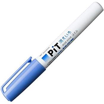 トンボ鉛筆 スティックのり 消えいろピット ほそみ PT-PC