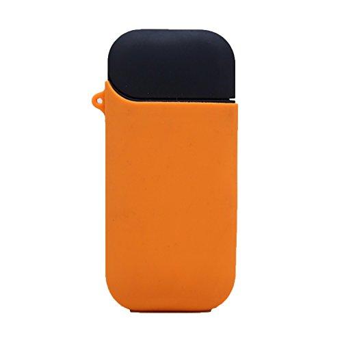 iqosケース iQOS 専用 シリコンケース シガレット ケース アイコス タバコ たばこ 煙草 (オレンジ)
