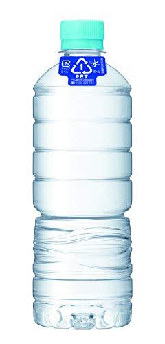 おいしい水 天然水 ラベルレスボトル PET600ml×24本