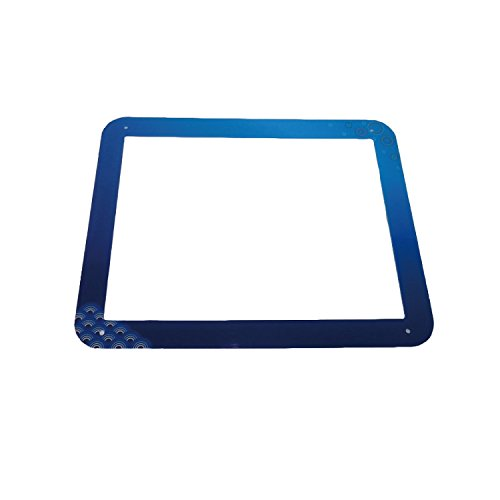 ヒロノワークス きせかえトイレ ラガッツァ 用トッププレート  小型犬用  ブルー青梅波  レギュラーサイズ