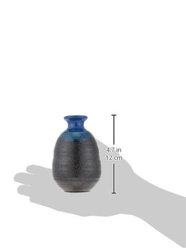 黒水晶 徳利 & グイ呑 2個セット 陶器 美濃焼