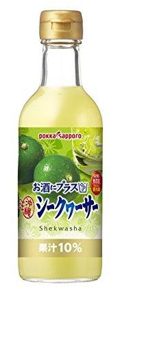 お酒にプラス 沖縄シークヮーサー 300ml×3個