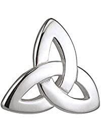 Biddy Murphy Sterling Silver Tie Clip Trinity Knot Made in Ireland