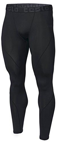 MUP19-KLB_M (テスラ)TESLA オールシーズン ロング スポーツタイツ [UVカット・吸汗速乾] コンプレッションウェア パワーストレッチ アンダーウェア