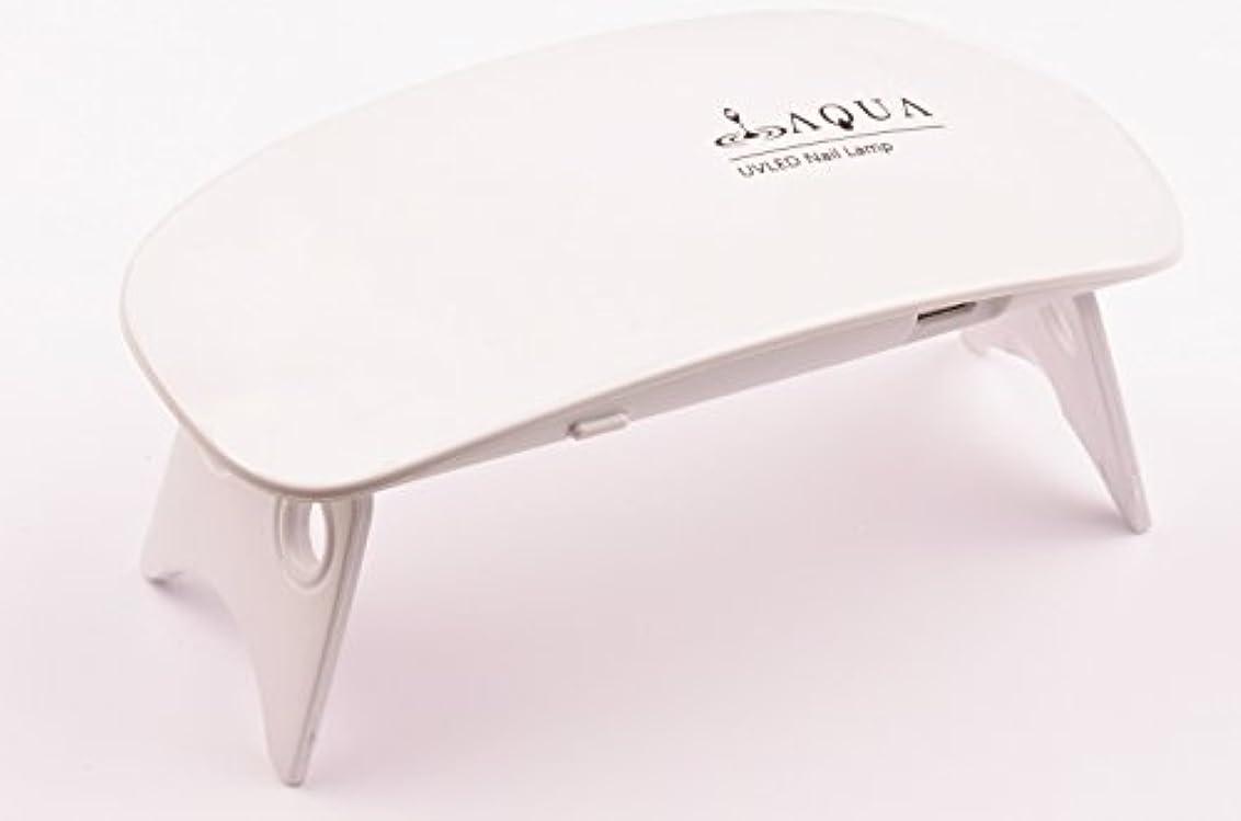 下手縁聖人LEDライト UVライト 6W 持ち運びに便利な軽量コンパクトサイズ (04.ホワイト)