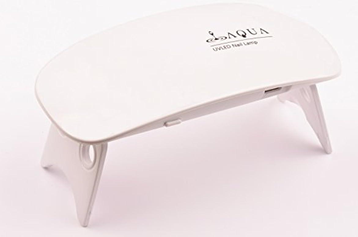 上回る感嘆虫LEDライト UVライト 6W 持ち運びに便利な軽量コンパクトサイズ (04.ホワイト)
