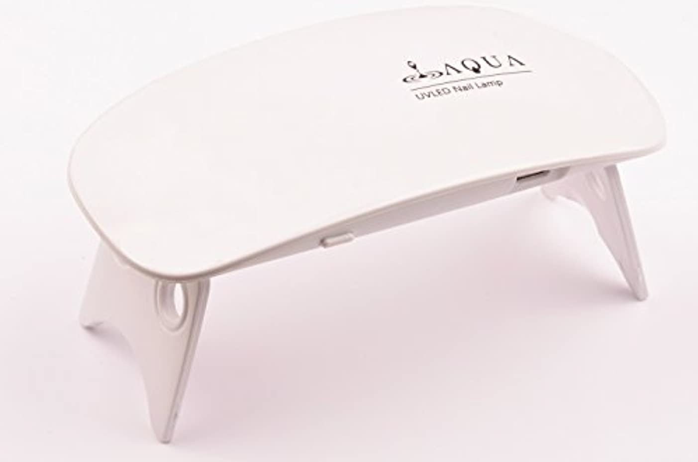 ヒープ割合平衡LEDライト UVライト 6W 持ち運びに便利な軽量コンパクトサイズ (04.ホワイト)