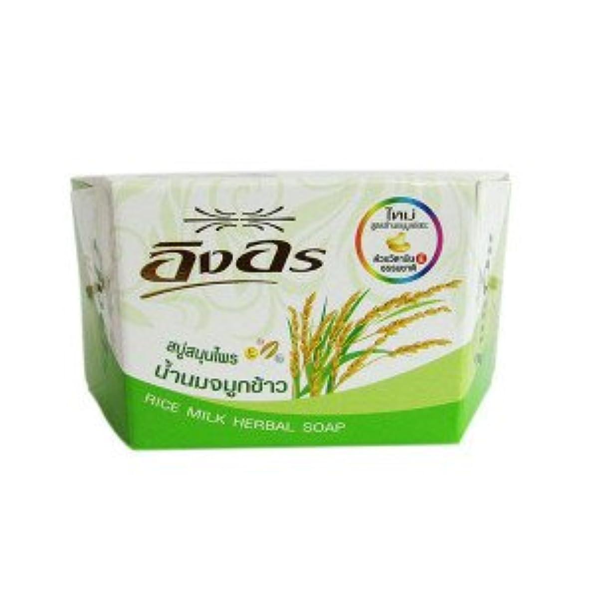 縞模様のその結果軽イングオン イングオンソープ ライスミルク 85g