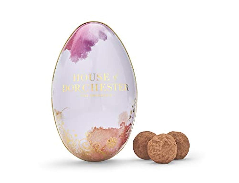化合物固める橋脚House of Dorchester Salted Caramel Truffles in Egg Tin 100g - チョコレートの卵、イースターエッグ、チョコレートのイースターエッグ