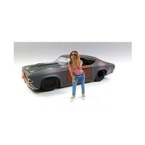 1/24 American Diorama Look-Out Girl Erika 女性 見張り フィギュア 模型