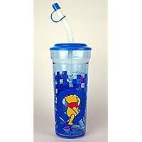 Zak Designs Winnie th Pooh Cup with Lid &ストロー20オンス