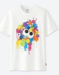ユニクロ スプラトゥーン Tシャツ Mサイズ
