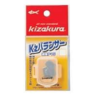 KIZAKURA(キザクラ) Kzバランサー J3 5枚入り 鉛 なまり 釣小物 仕掛けパーツ 020513