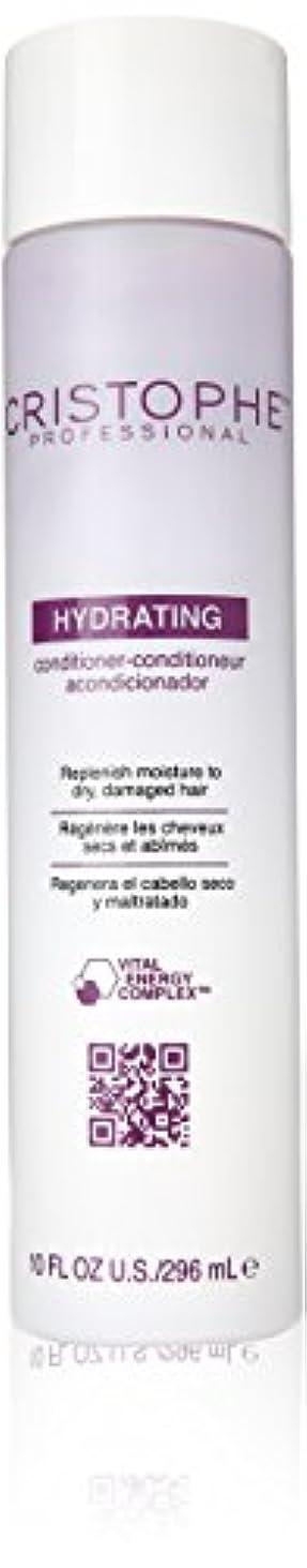 美容師アカデミック電報Cristophe Professional ハイドレイティングコンディショナー、10オンス 10オンス