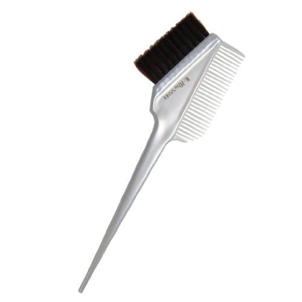 フレット解釈する更新するヘアダイブラシ K-70 パールホワイト