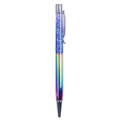 [해외]Happy 해피 귀 인기 패션 볼펜 검정 0.8mm 유성 볼펜 제트 스트림 밤하늘 반짝 반짝 화려한 사무실 용 학생용/Happy Happy Ear Popular Fashionable Ball Pen Black 0.8 mm Oilic Ballpoint Pen Jet Stars Starry Sky Colorful Office For Students