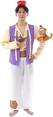 アラジン コスプレ ハロウィン アラビアン コスチューム 仮装 衣装 7点セット EMIRIP