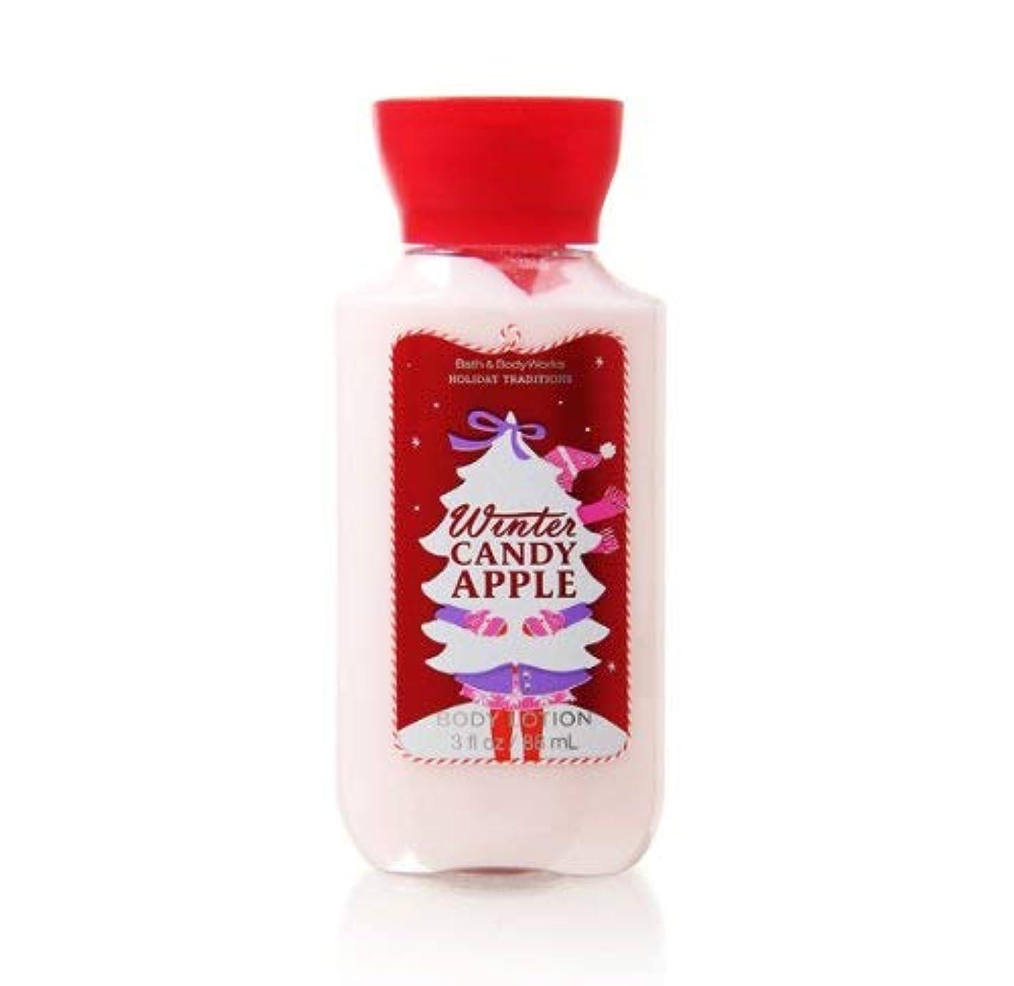 区会議ハムバス&ボディワークス ウィンターキャンディアップル ボディローション トラベルサイズ Winter Candy Apple [並行輸入品]