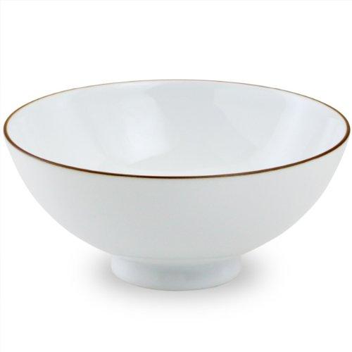 白山陶器 ベーシック 4寸飯碗 白マット(12cm茶碗)