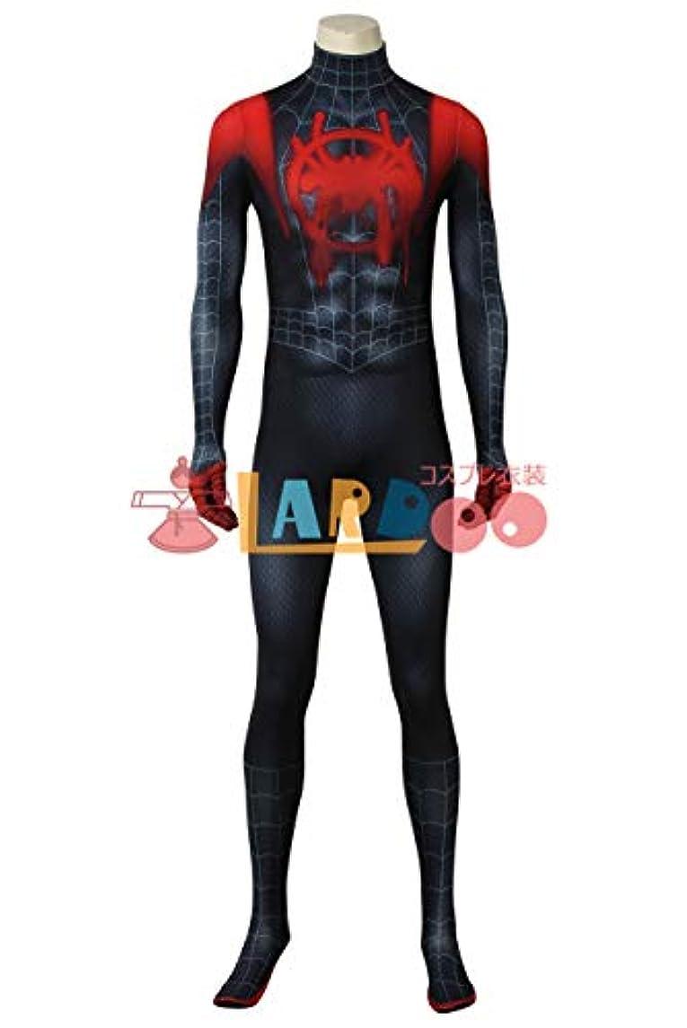 ストライクシュガー論争の的スパイダーマン: スパイダーバース(Spider-Man: Into the Spider-Verse)マイルズ?モラレス コスプレ衣装