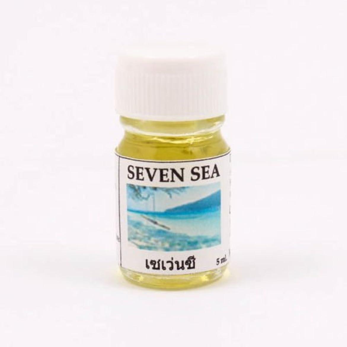 レザー未就学動機6X Seven Sea Aroma Fragrance Essential Oil 5ML. cc Diffuser Burner Therapy