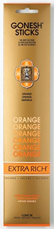 ベイビー定期的に到着するGONESH エクストラリッチ スティック オレンジ 20本入