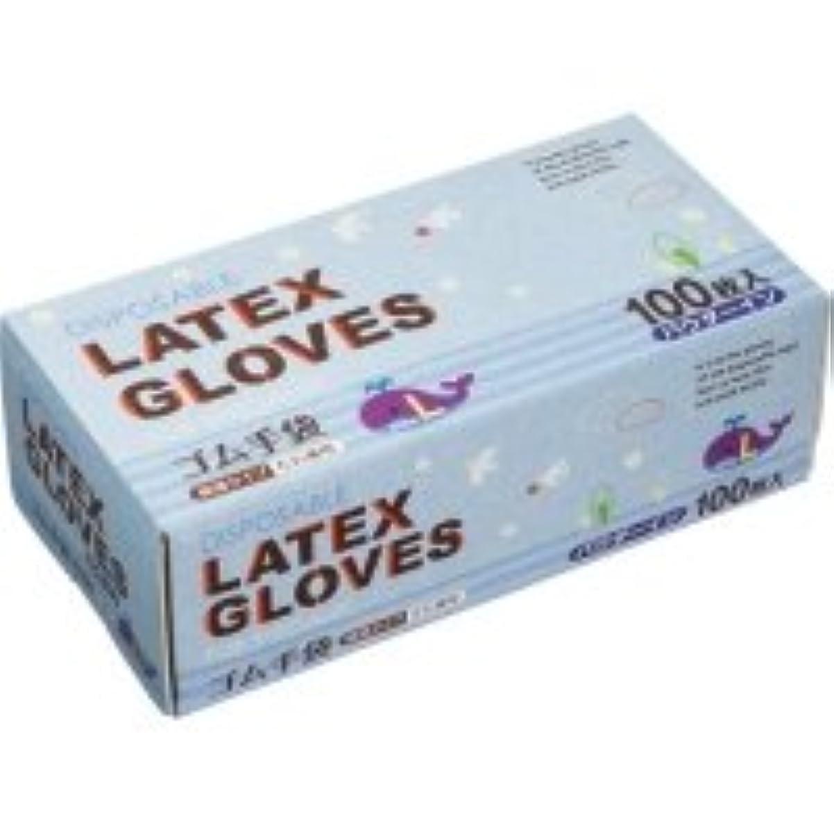 投獄谷ジョットディボンドンノーブランド ラテックス手袋 パウダーイン L 1箱(100枚)