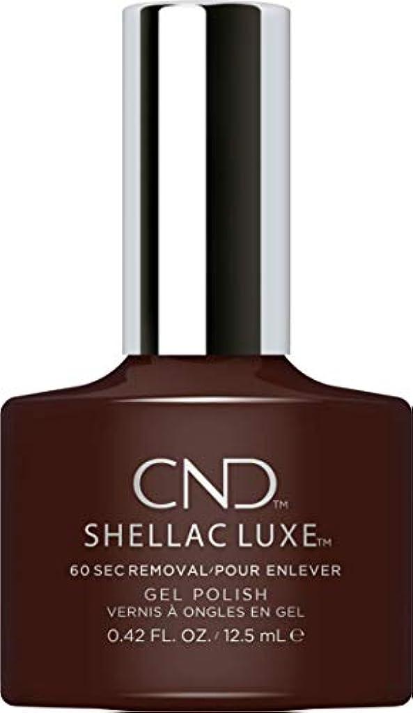 感嘆エキサイティング十分ですCND Shellac Luxe - Fedora - 12.5 ml / 0.42 oz