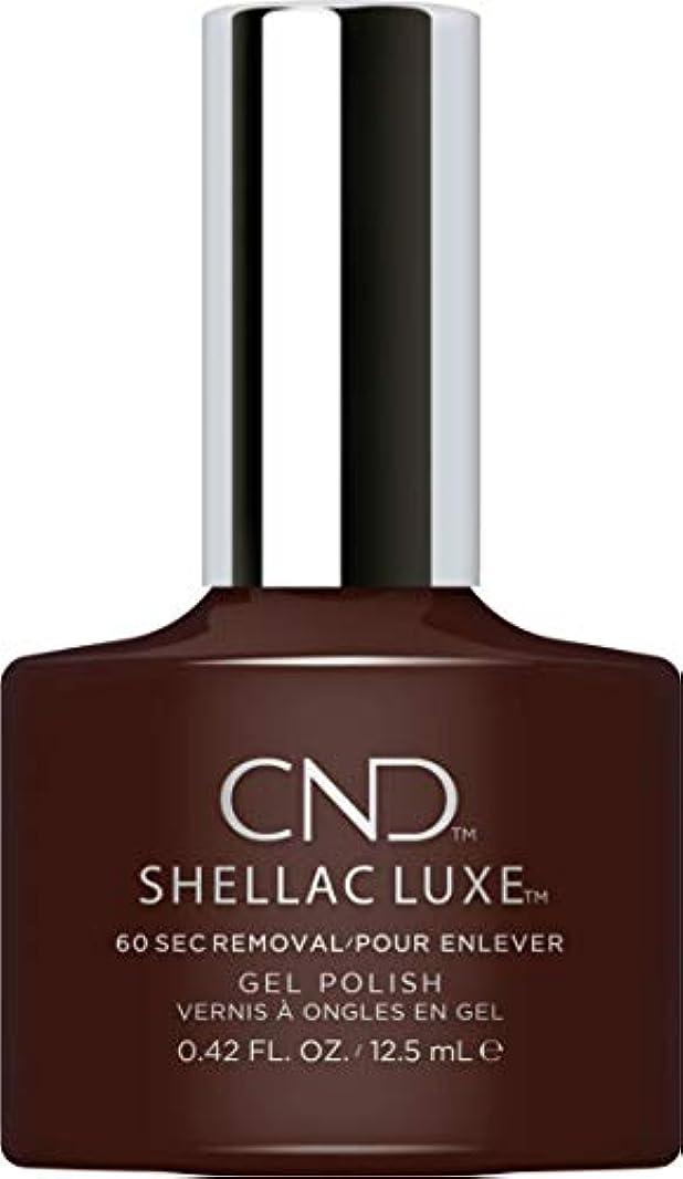 メキシコ苦痛バラバラにするCND Shellac Luxe - Fedora - 12.5 ml / 0.42 oz