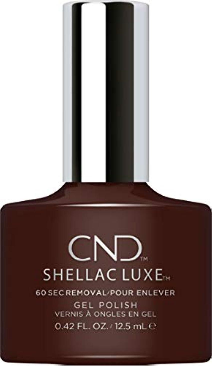 好奇心放映風が強いCND Shellac Luxe - Fedora - 12.5 ml / 0.42 oz