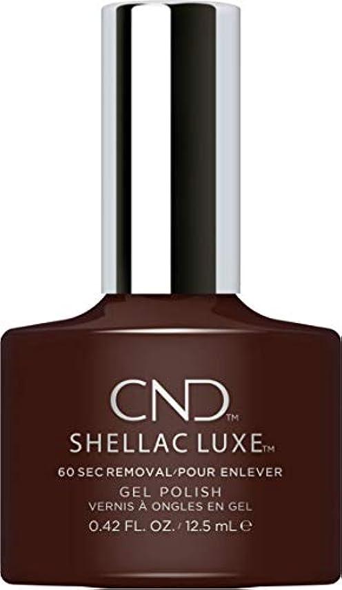 四半期原油虚弱CND Shellac Luxe - Fedora - 12.5 ml / 0.42 oz