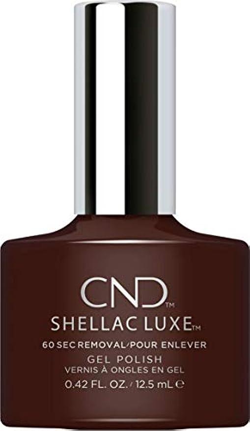 夜明け隔離するベッドを作るCND Shellac Luxe - Fedora - 12.5 ml / 0.42 oz