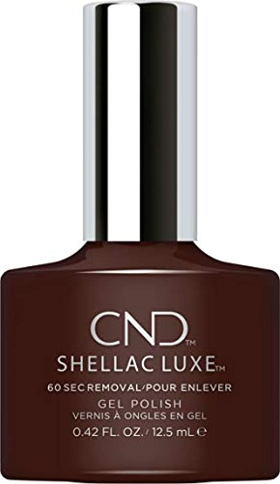 意図平衡持続するCND Shellac Luxe - Fedora - 12.5 ml / 0.42 oz