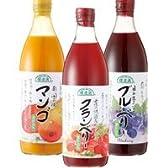順造選 とろーり果汁ジュースセット 500ml×3本