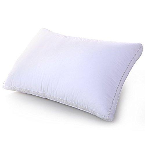 BLC まくら 快眠枕 肩こり対策 高級立体構造ピロー 高反発 洗える ホテル仕様 (シングル,43X63cm,ホワイト)