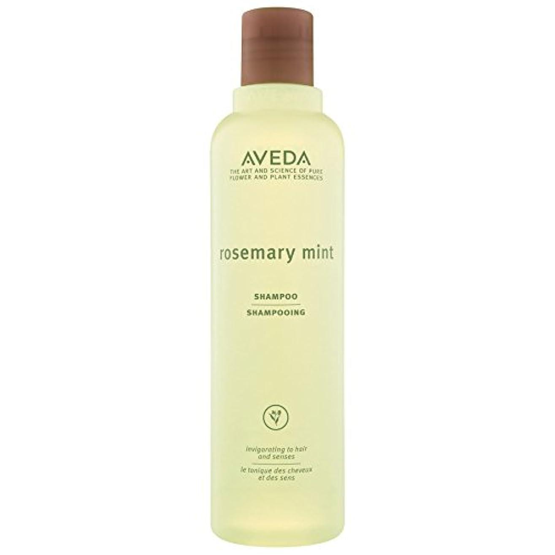 定期的な学者ビュッフェ[AVEDA] アヴェダローズマリーミントシャンプー250Ml - Aveda Rosemary Mint Shampoo 250ml [並行輸入品]