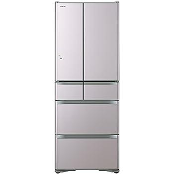 日立 真空チルド 冷蔵庫 プレミアムXGシリーズ 505L クリスタルシャンパン R-XG5100G XN
