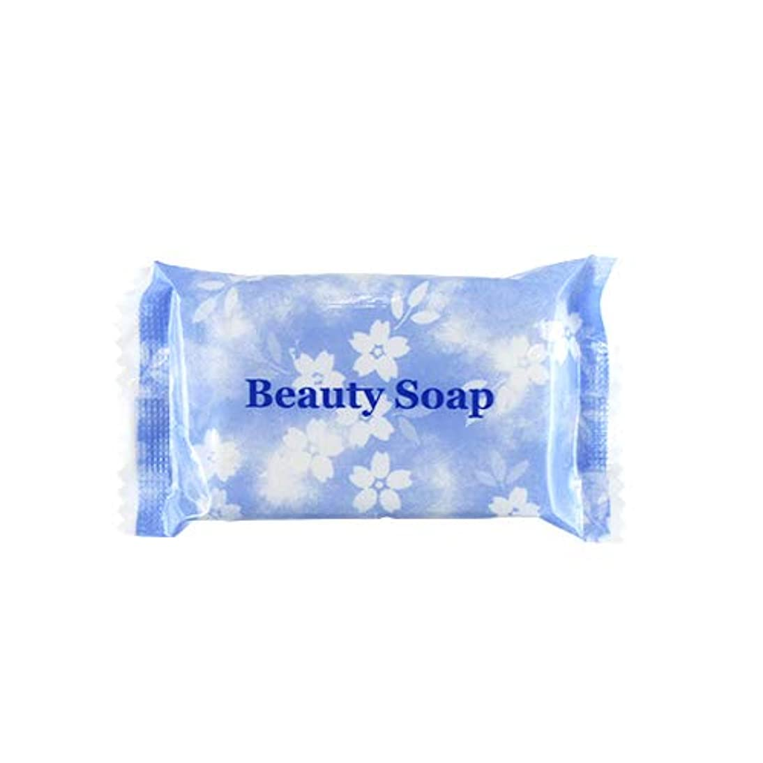 のれん繊毛甲虫業務用 クロバーコーポレーション ビューティーソープ(Beauty Soap) 15g×100個セット | ホテルアメニティ 個包装
