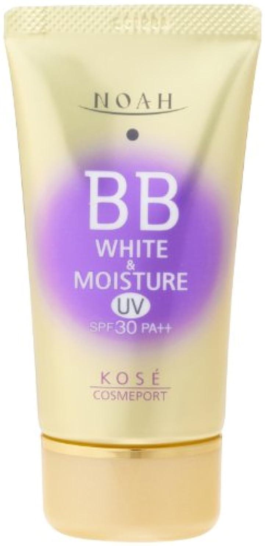 雄弁ピア伝導率KOSE コーセー ノア ホワイト&モイスチュア BBクリーム UV02 SPF30 (50g)