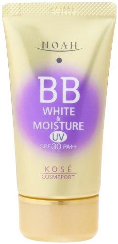 KOSE ノア ホワイト&モイスチュア BBクリーム UV02 SPF30 (50g)