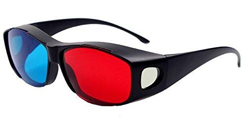 BORDER. 3Dメガネ アナグリフ 眼鏡 プラスチック製...