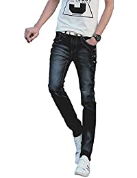 [プチドフランセ ] メンズ デニム ジーンズ ファッション デニムジーンズ ボタン