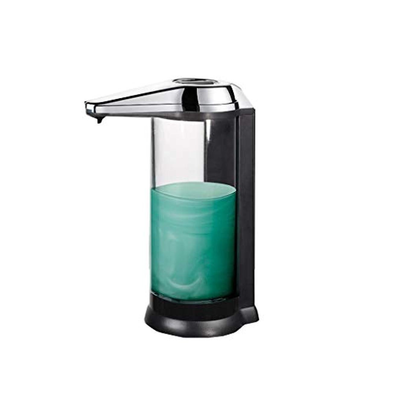 多分輪郭今せっけん ソープディスペンサー自動ソープディスペンサー赤外線モーションセンサー液体ディスペンサー防水リークプルーフ非接触石鹸子供、キッチン、バスルームに適して 新しい
